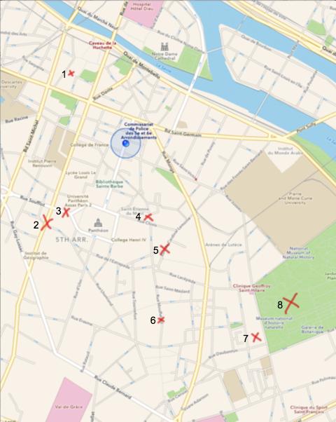 nora map